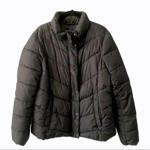 Gap Black Puffer Winter Jacket Large